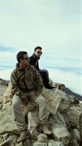 Team auf dem Pico del Teide, Teneriffa