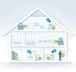 Smart Home Technik Heizung Licht Automatik Bewegungsmelder