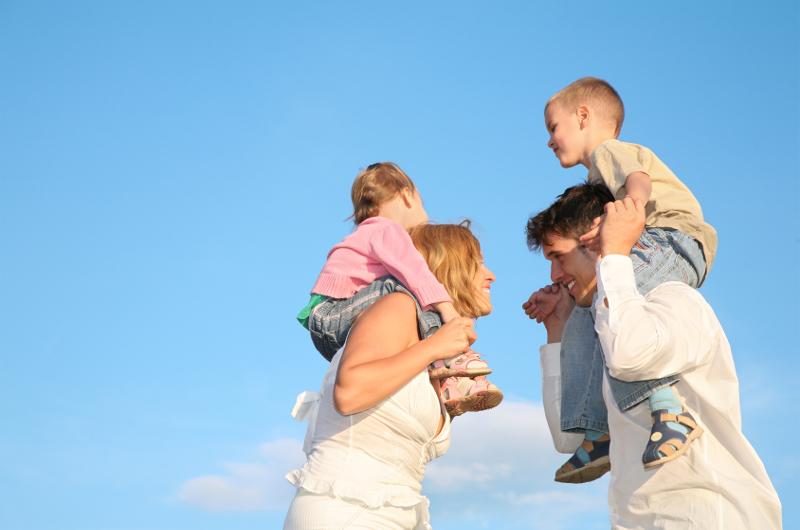 Einkommenssicherung für Familien