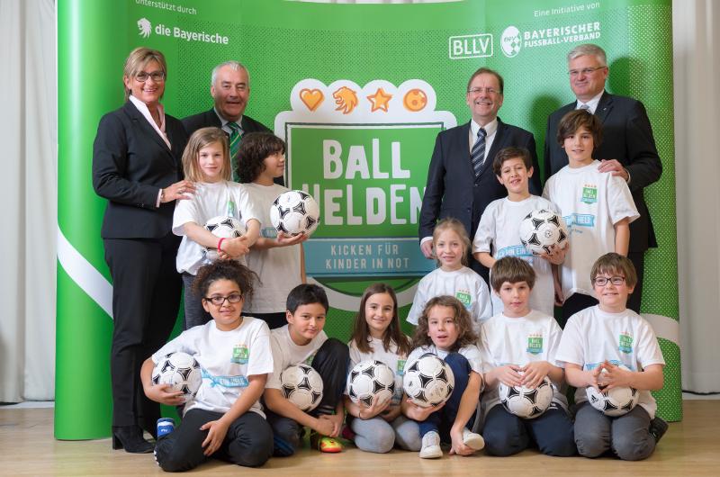 BallHelden 2017 die Bayerische Fußball
