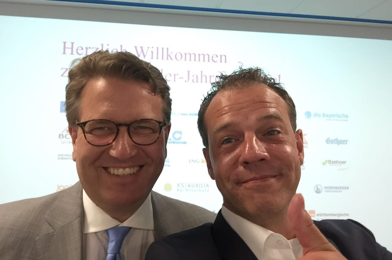 Jungmakler Award Jungmakler Jahrestagung Martin Gräfer Dominik Brandt