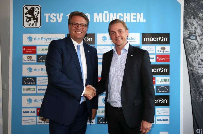 Hauptsponsor die Bayerische TSV 1860 München