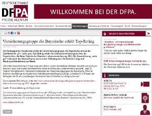 Top-Rating: Qualitätsnote A+ für die Bayerische durch die Ratingagentur Assekurata