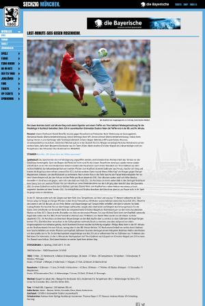 Löwen gewinnen in letzter Minute gegen 1860 Rosenheim