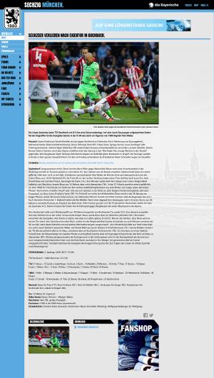 TSV 1860 München gegen TSV Buchbach