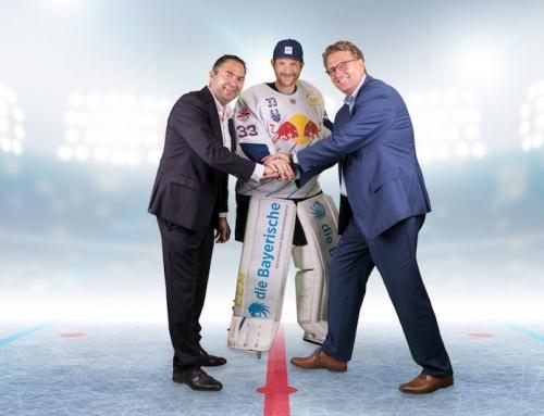 Die Bayerische wird Premiumpartner des EHC Red Bull München