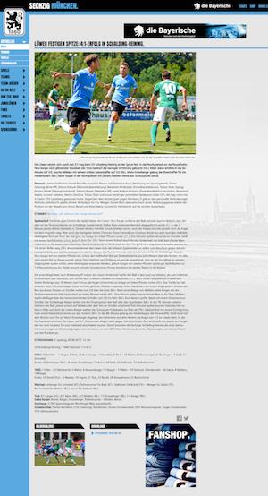 Löwen gewinnen gegen den SV Schalding-Heining 4:1