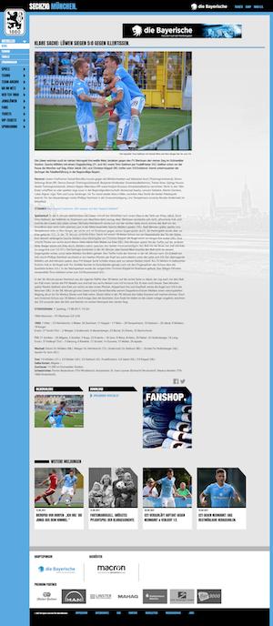 Schützenfest: Löwen siegen 5:0 gegen FV Illertissen