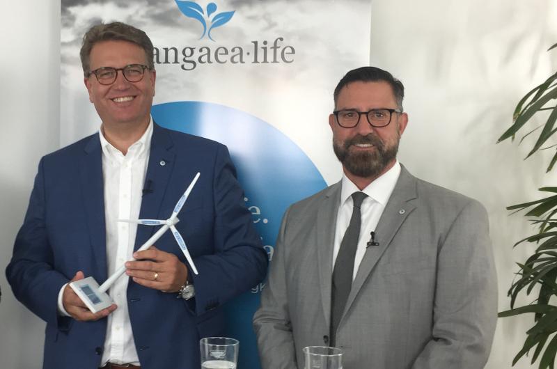 Pangaea Life: Martin Gräfer, Vorstand, und Uwe Mahrt, Geschäftsführer Pangaea Life GmbH