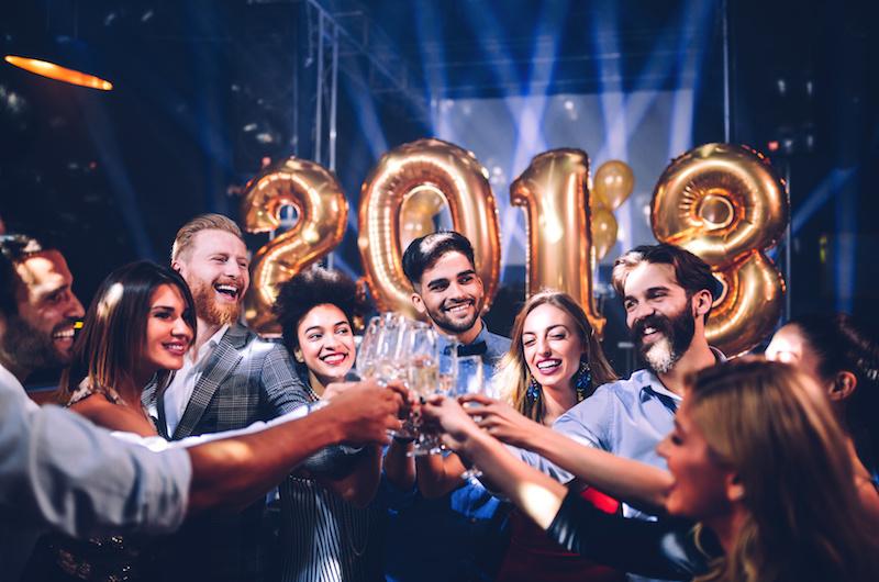 Neujahr im Ausland