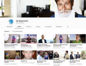 YouTube Kanal der Bayerischen