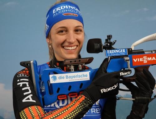 """Perfektes Rennen für Vanessa Hinz: """"Jetzt stehe ich ganz oben!"""""""