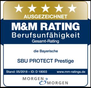 MORGEN & MORGEN Siegel für die SBU PROTECT Prestige