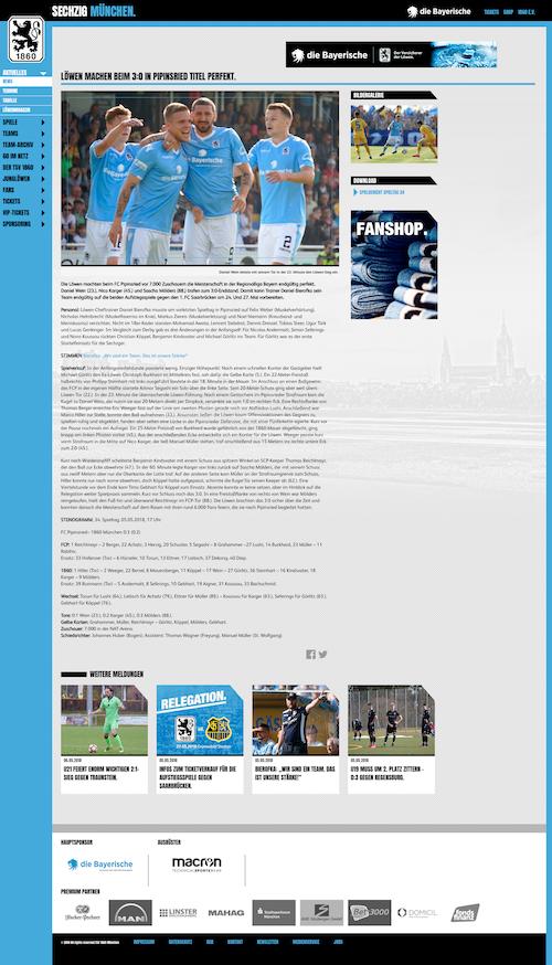 Löwen: Meisterschaft perfekt in Pipinsried