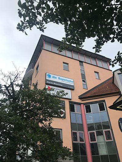 Die Geschäftsstelle Martin Duschner in Weiden in der Oberpfalz