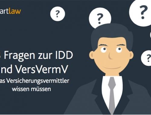 18 Fragen zu IDD und VersVermV: Jetzt aktualisiert!