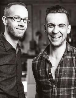 Stephan Busch und Tom Wonneberger