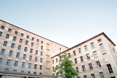 Das Finanzministerium in Berlin