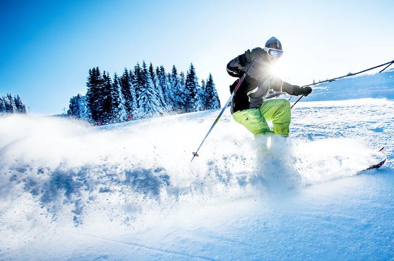 Der große Alpensturm Skiurlaub