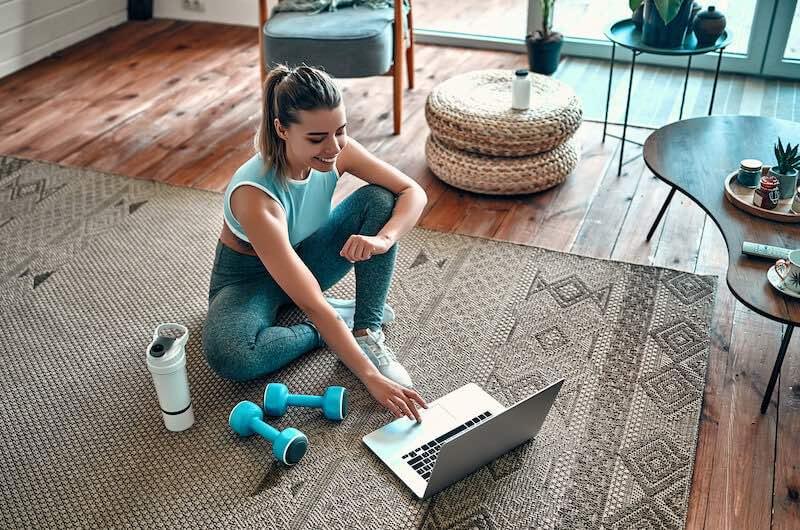 fit21 Programm um im Home Office gesund zu bleiben