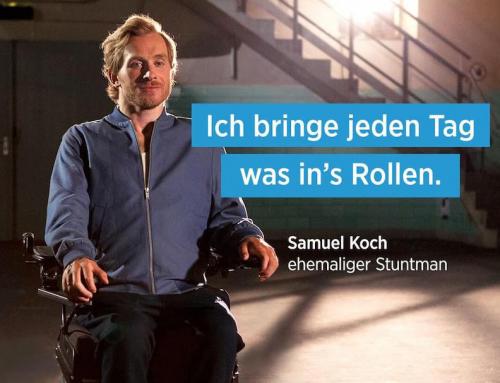 """Biometrie Kampagne: """"Damit noch was geht, wenn nichts mehr geht"""""""